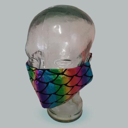 Breathe Easy Masks - Mask-Model-Mermaid